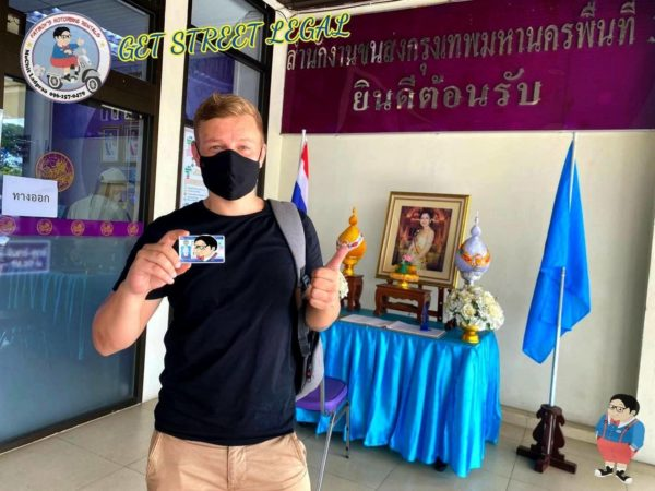 thai drivers license service customer