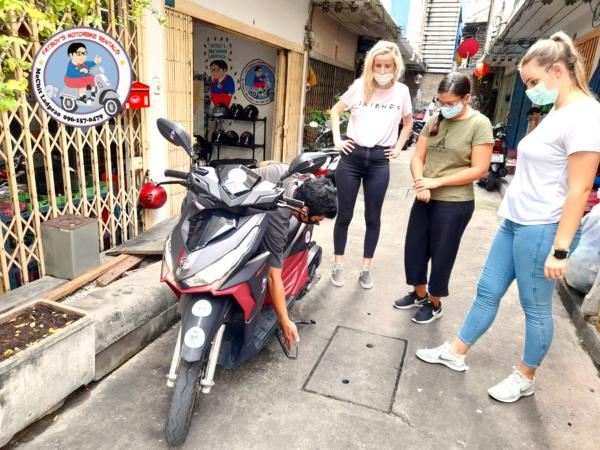 motorbike driving lessons silom