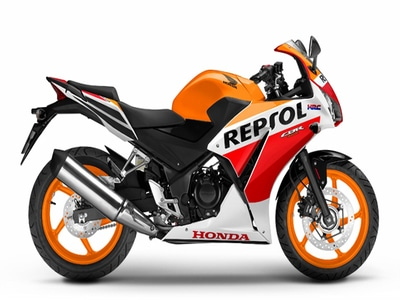 honda cbr 300 for rent